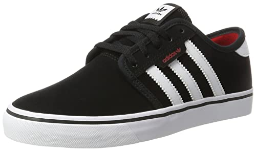 Unisex Adults Seeley Skateboard Shoes, Black adidas