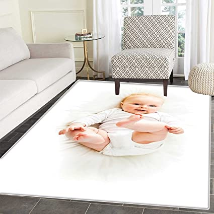 Amazon.com: Baby Area Mat Carpet Beautiful Baby with Her ...