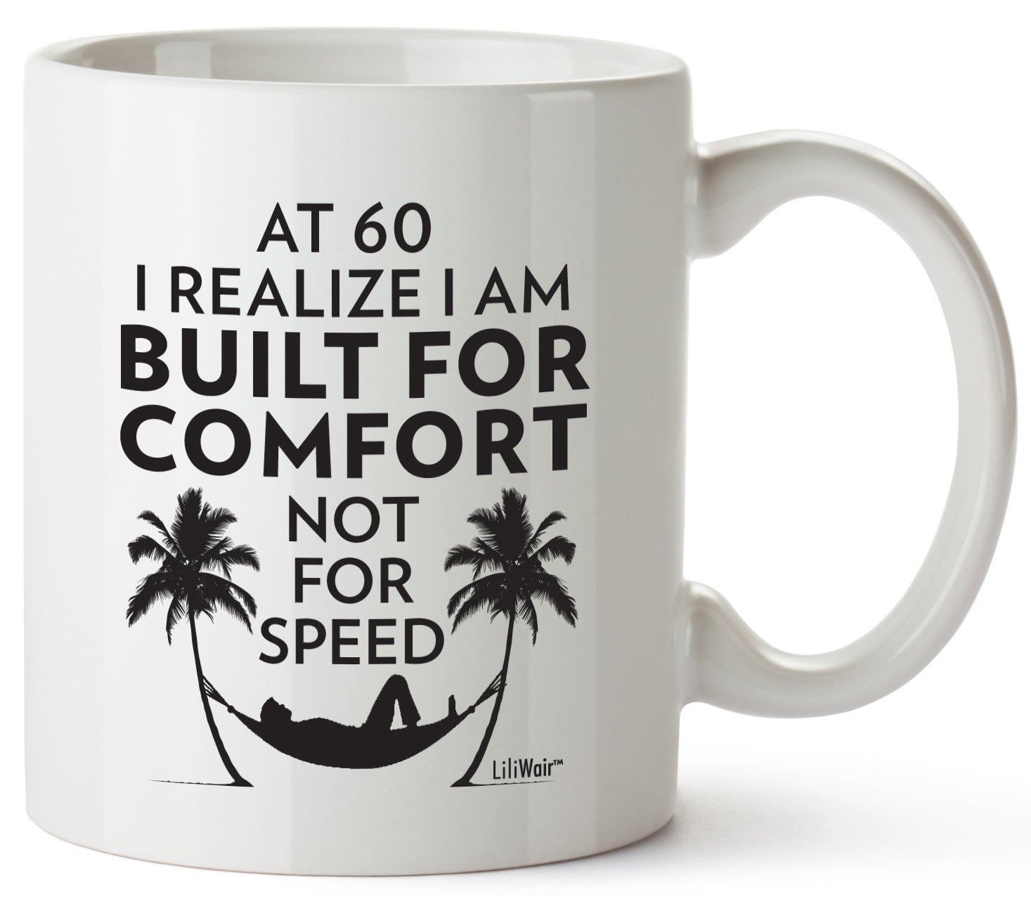 Details About 60th Birthday Gifts For Women Sixty Years Old Men Gift Mug Happy Funny 60