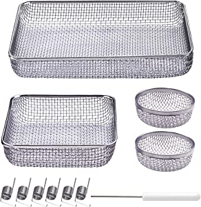 EAZY2HD 4 Pack Flying Insect Screen for RV Refrigerator Vents, RV Furnace Vent Cover,RV Furnace Bug Screen for Camper Vents
