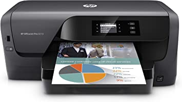 Hp Officejet Pro 8210 Impresora De Color Inalámbrico Tinta Instantánea O Rellenación De La Perilla De Amazon Lista D9l64a Negro Electronics