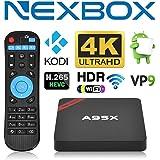 BOLV S905X BOX Android 6.0 Smart TV Box Amlogic S905X Quad Core Mini Pc 3D 4K HD Support WIFI Kodi 16.1 Player Fully Loaded Streaming Media Player