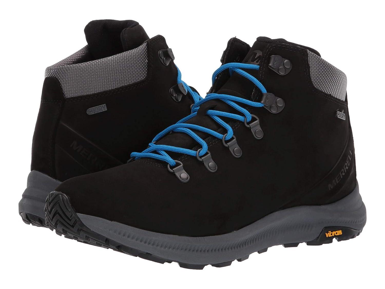 【国産】 [メレル] メンズランニングシューズスニーカー靴 [メレル] Ontario Mid Waterproof [並行輸入品] B07N8GCKNL ブラック B07N8GCKNL ブラック 25.0 cm 25.0 cm|ブラック, QS GATE(キューズゲート):c5293157 --- consumer1st.in