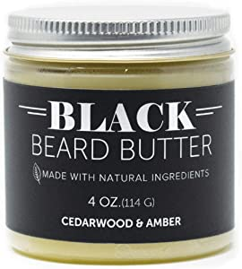 Detroit Grooming Co. - 4 oz. Beard Butter Double The Size - 'Black' Amber Bourbon - Beard Balm