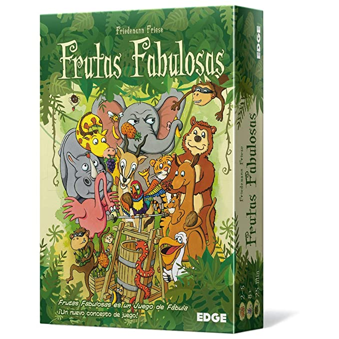 Asmodee - Frutas fabulosas (Edge Entertainment EE2F11)