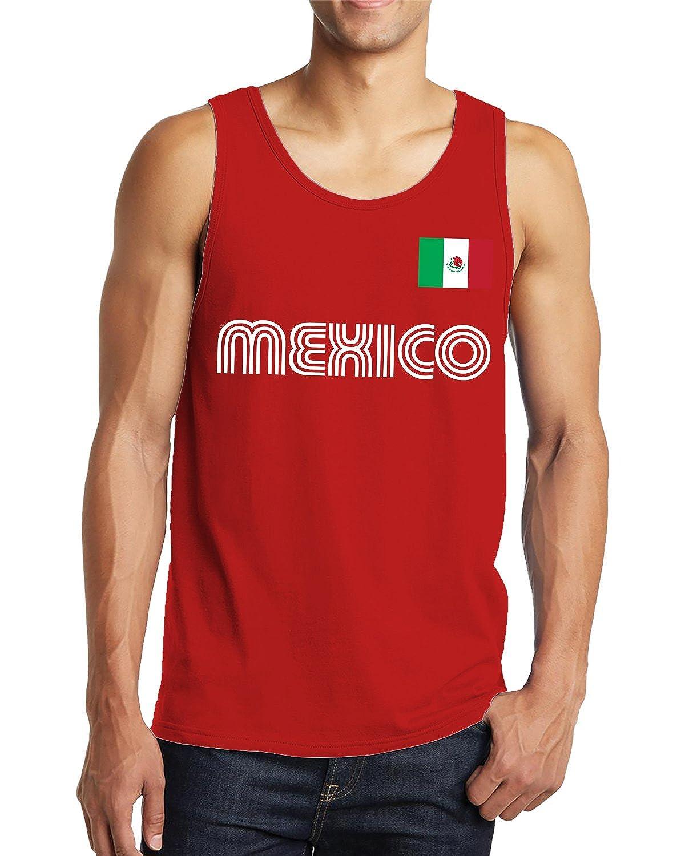 d34975214 Amazon.com  SpiritForged Apparel Mexico Soccer Jersey Men s Tank Top   Clothing