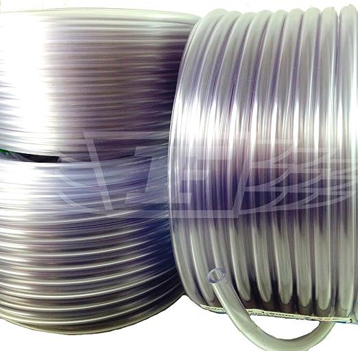 Tube PVC Tuyau//flexible en plastique transparent-qualité alimentaire-Poissons//étang//Voiture//aquariums//Air