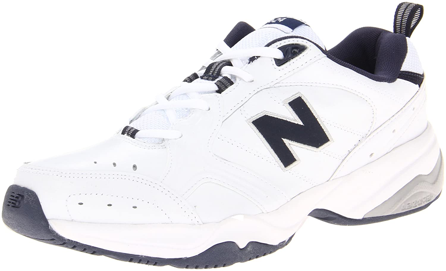 New Balance Mx624 - Hombre 49 2E EU|- White With Navy