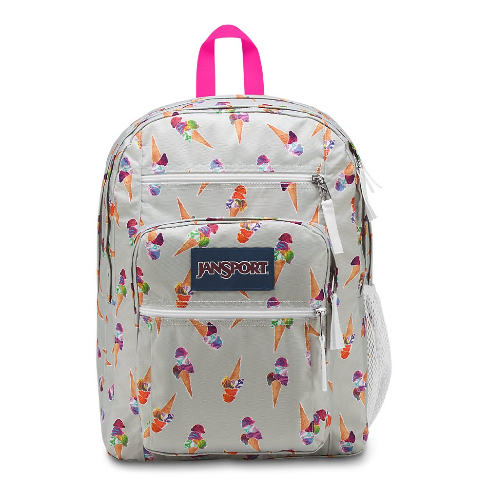 JanSport Unisex Big Student Oversized Backpack Cones And Scoops