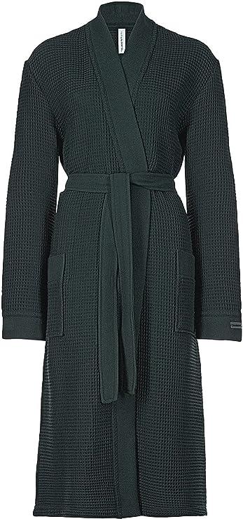 TALLA S. Taubert Spa Thalasso - Albornoz tipo kimono (120 cm, algodón pique)