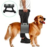Lepark Dog Sling with Handle for Canine Aid, Veterinarian Approved Dog Lift Harness for Rehabilitation (XL,Grey)