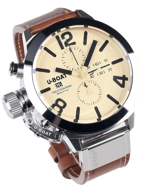 ユーボート 腕時計 50mm クロノグラフ Classico 50 Tungsten 7433[並行輸入品] B00QJZZX16
