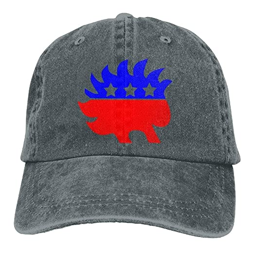 e4e1a4d9d108f Funny Libertarian Party Adult Cowboy Creating Trendy Baseball Cap ...