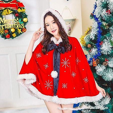 Shisky Disfraz de Navidad Adulto,Vestido de Bola de Navidad Traje ...