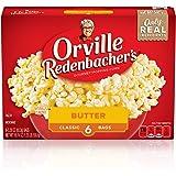 Orville Redenbacher's Butter Popcorn, 3.29 Ounce Classic Bag, Gluten Free, 6-Count, Pack of 6