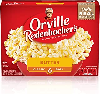 product image for Orville Redenbacher's Popcorn, Classic Bag, Gluten Free, Butter, 3.29 Ounce (Pack of 36)