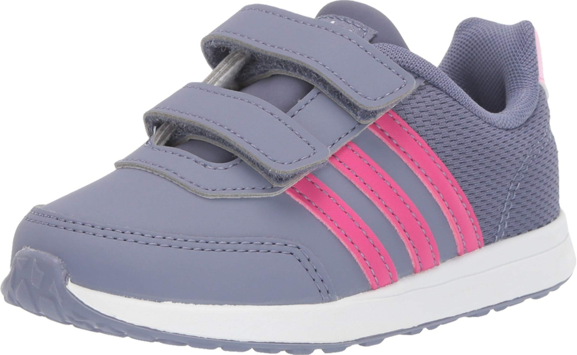 adidas Kids Unisex VS Switch 2 CMF (Infant/Toddler) Raw Indigo/Real Magenta/True Pink 9.5 M US Toddler