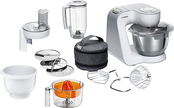 Bosch MUM58243 - Robot de cocina (1000 W, acero inoxidable) + ...
