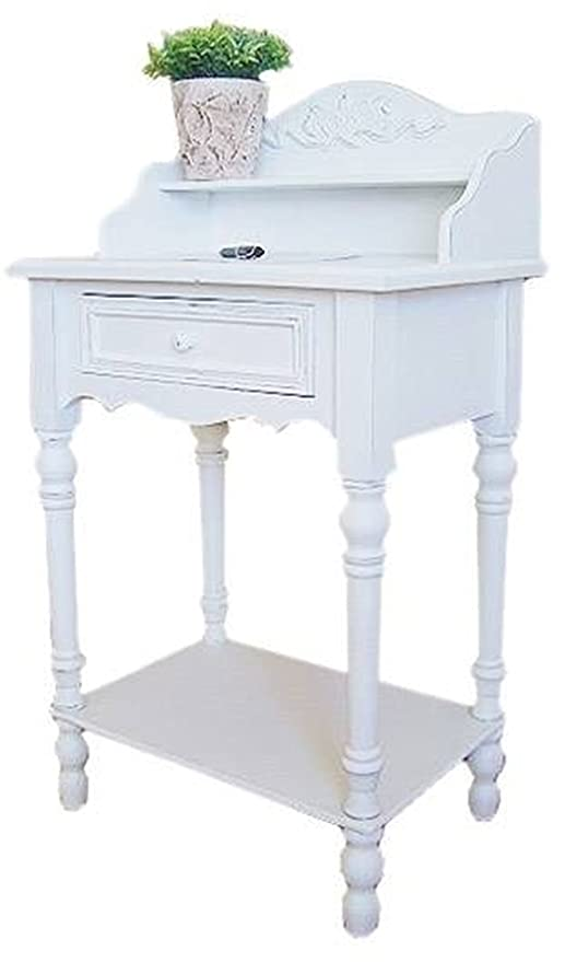 Couchtische Konsolentisch Holz Tisch Schubladen weiß ...