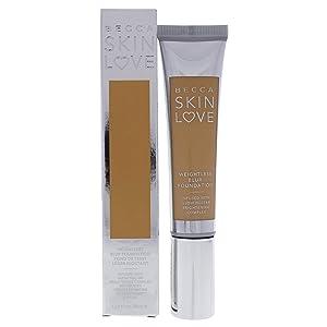 Becca Skin Love Weightless Blur Foundation, Buff, 1.23 Ounce