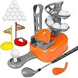 LOYO Kids Golf Clubs Set Toddler-Golf-Clubs Outdoor Golf Game for Kids, Golf Balls Play Set with Training Golf Balls & Clubs