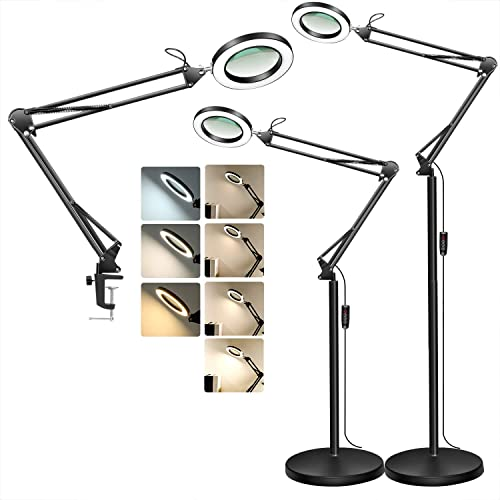 TOMSOO Magnifying Floor Lamp