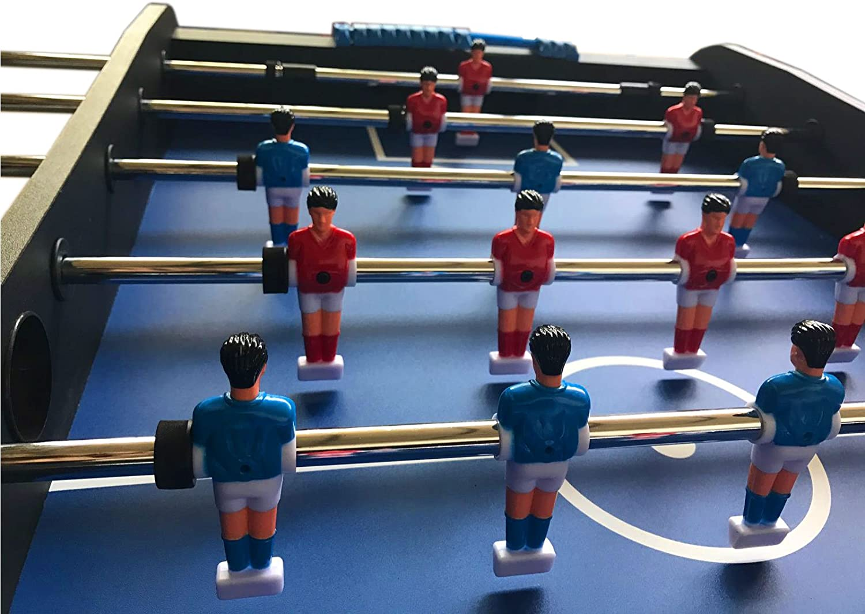 MESA FUTBOLIN MADERA Modelo Easy Soccer ROBUSTO Y RESISTENTE NUEVO ...