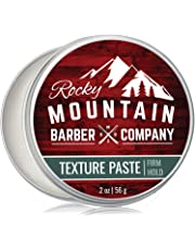 Texture Paste for Men - Canadian Made - Hair Styling Cream with Pliable Light-Firm Hold for All Hair Styles, Shine-Free Matte Finish - Easy to Wash Out - 2 OZ