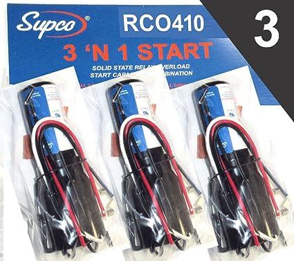 71We 2t8m0L._SX425_ amazon com rco410 supco 3 n 1 start kit (3 pack) home improvement