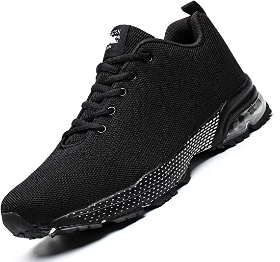 Sunshinehomely Men Fashion Lightweight Breathable Sneakers Shoes for Running Walking Casual Sports Shoes