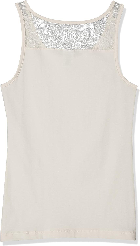 Sanetta M/ädchen Shirt W//O Sleeves Unterhemd