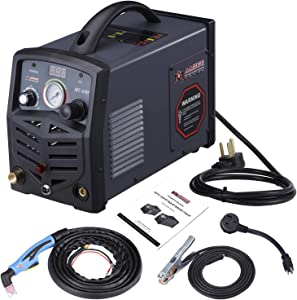 Amico 40 Amp Non-touch Pilot Arc Air Plasma Cutter, 110V/220V Dual Voltage Cutting Machine, 1/2 in. Clean Cut, APC-40HF