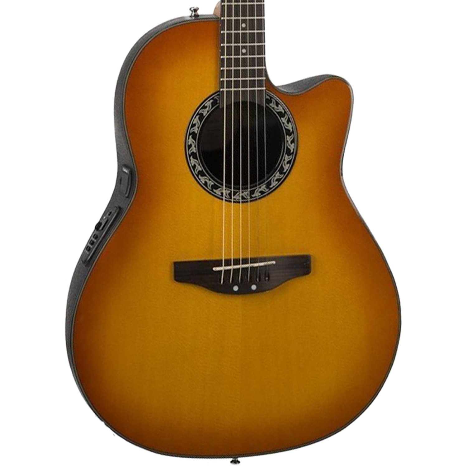 ovation ab24 4 acoustic electric guitar applause