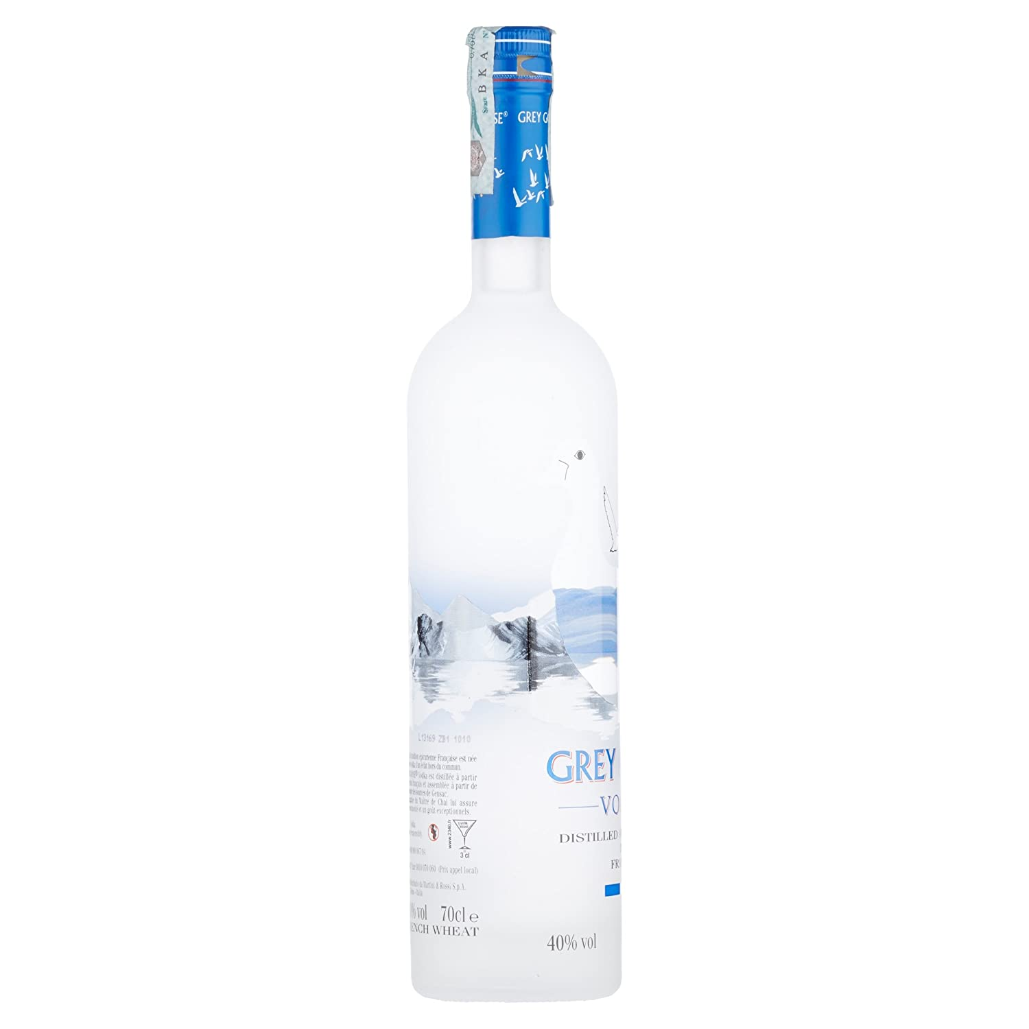 French vodka Gray Gus: characteristics, reviews 16