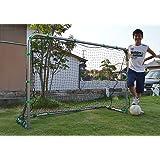 ファンタジスタゴール、折りたたみ式ミニサッカーゴール2台セット、横幅180cmx高さ120cmx奥行60cm、ポール径、38mm、重さ11kg(1台)