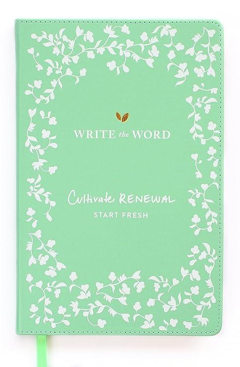 write the word bible journal scripture faith journal by lara casey green