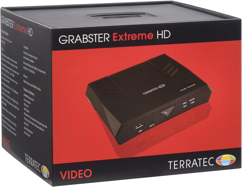 Terratec Grabster Extreme HD Dispositivo para capturar Video Capturadora de v/ídeo