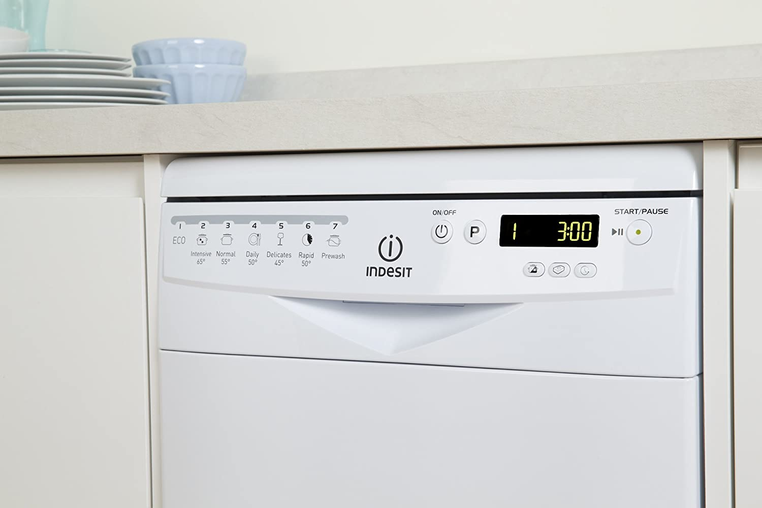 Lavavajillas INDESIT Prime DSR 57B - Color blanco: Amazon.es ...
