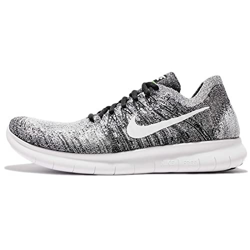 c104b8901ccc Nike Mens Free RN Flyknit 2017 Running Shoe Black White-Volt 14. 0  Buy  Online at Low Prices in India - Amazon.in