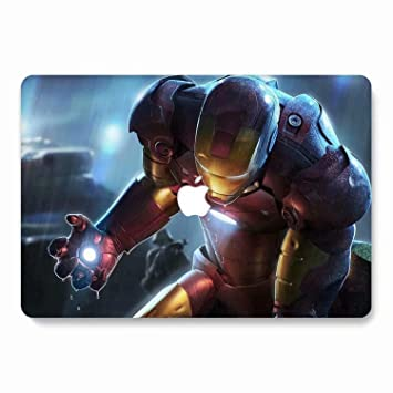 AQYLQ Funda Dura para MacBook Air 13 Pulgadas (A1369 / A1466), Ultra Delgado Carcasa Rígida Protector de Plástico Acabado Mate Cubierta, DH4 Iron Man ...