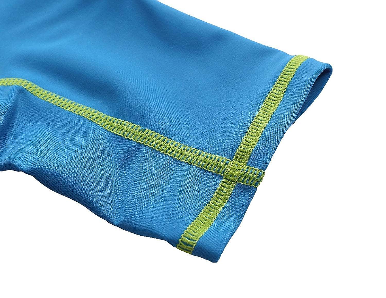 Sun Protective Zipper Sunsuit Anwell Baby Rashguard One Piece Swimsuit UPF 50