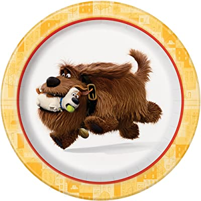The Secret Life of Pets Dessert Plates, 8ct: Toys & Games