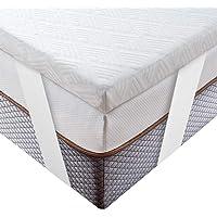 BedStory Topper Viscoelastico 90x190x5cm Topper Colchón con Té Verde Natural Anti…