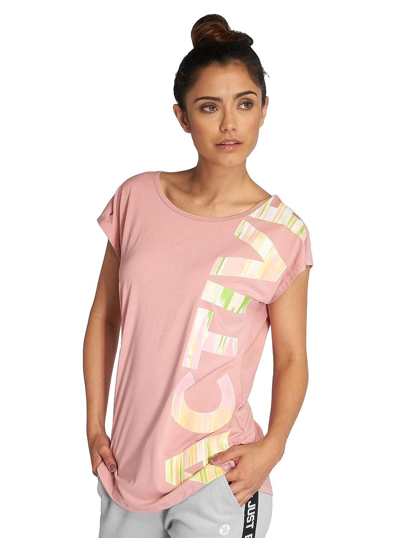 TALLA L. Just Rhyse Mujeres Camisetas Mataura Active