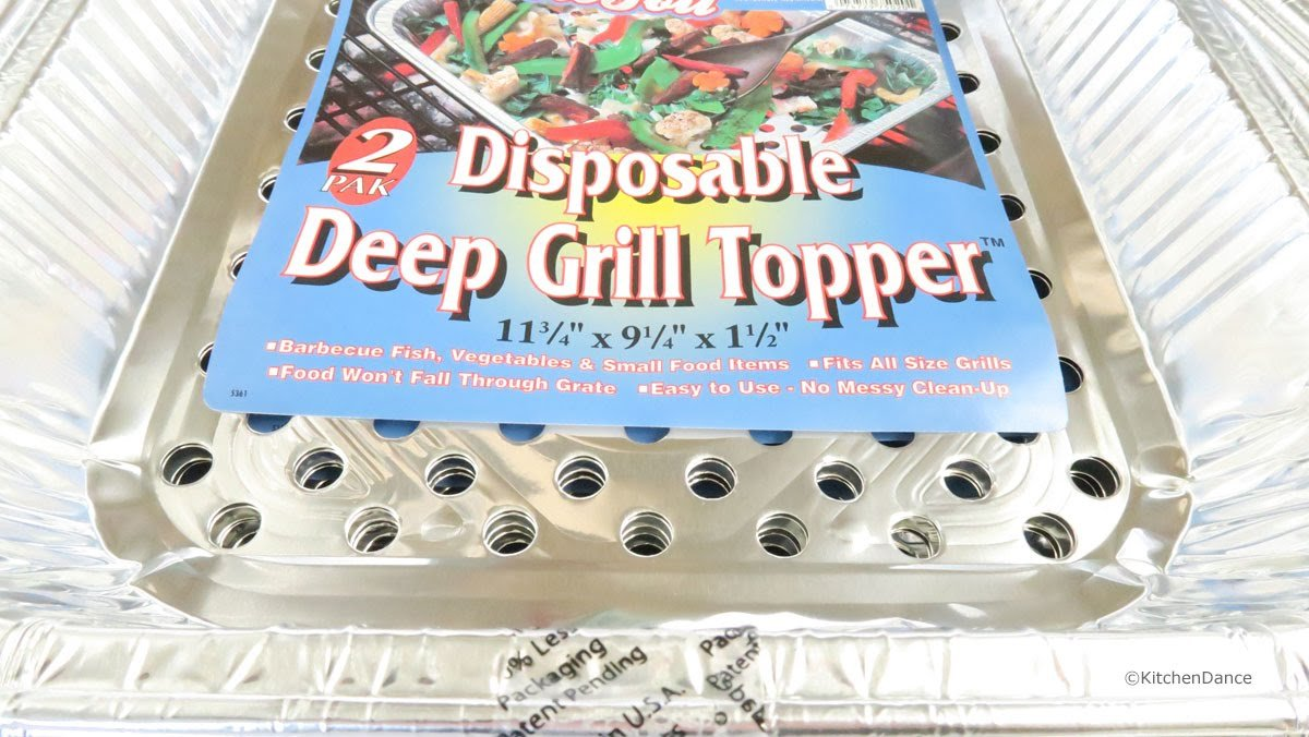 Durable Disposable Aluminum BBQ Grill Toppers/Grill Woks (20) by Durable Packaging (Image #3)