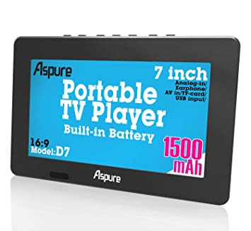 Amazon.com: TV digital portátil TFT HD de pantalla libre LED ...