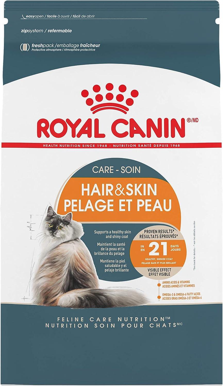 Royal Canin Hair & Skin Care Dry Cat Food, 3.5 lb. bag