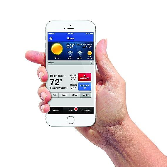 First Alert Therm de 500 onelink Wi-Fi Pantalla Táctil Smart Termostato by First Alert: Amazon.es: Bricolaje y herramientas
