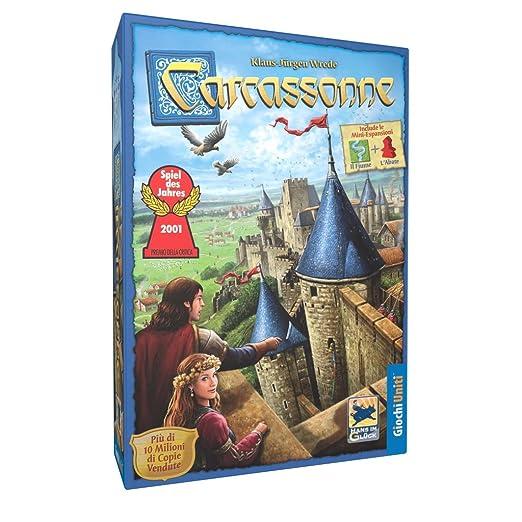 158 opinioni per Giochi Uniti- Carcassonne- Scatola Base