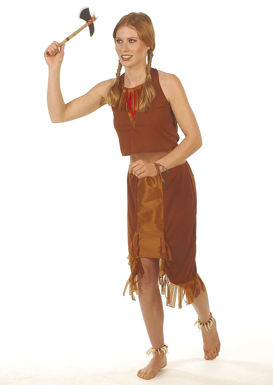 César - Disfraz de indio para mujer, talla 36 (E953-001 ...
